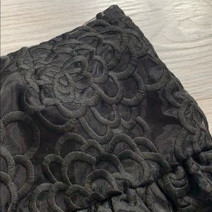 kate spade Skirts - BNWT Kate Spade Rose Organza Skirt Size 2